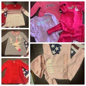 Baby Gap - 6 Month Fall/Winter LOT - 9 pieces